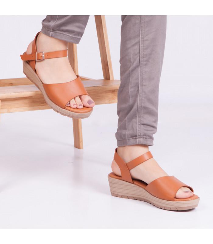 Sandale compensée Sandra