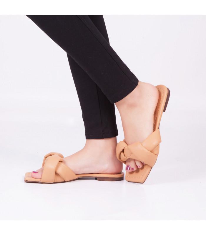 Sandale Plat Taissy Camel