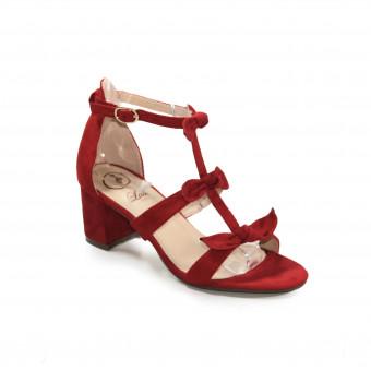 Sandales à talon alberta