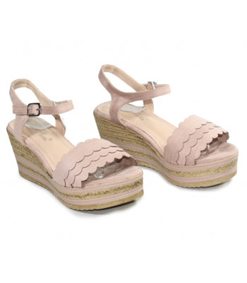 Sandales compensées Maxi