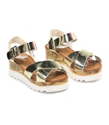 Sandales compensées Emily