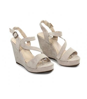 Sandales compensées  morgan
