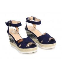 Sandales compensées Simius