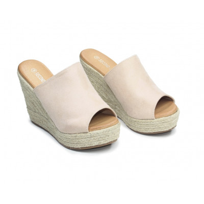 Sandales compensées Lady