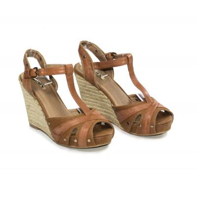 Sandales compensées Lisa