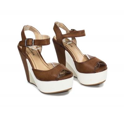 Sandales compensées Shari