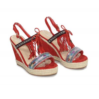 Sandales compensées Emma