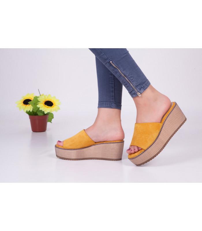 Sandale Amelia Jaune