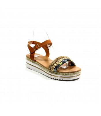Sandales compensées Mia