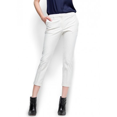 Pantalon MANGO Blanc